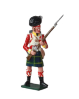 0550 Toy Soldier Set Private 92nd Gordon Highlanders Painted