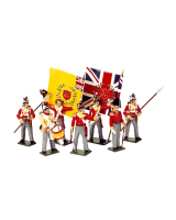 0706 Toy Soldiers Set British Line Infantry Painted