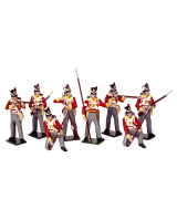 0707 Toy Soldiers Set British Line Infantry Painted