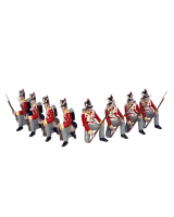 0710 Toy Soldiers Set British Line Infantry Painted