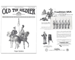 Old Toy Soldier Magazine 1988 Volume 11 Number 6 - Paper Soldiers