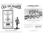 Old Toy Soldier Magazine 1994 Volume 18 Number 2 Britains 1993 Limited Editions