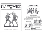 Old Toy Soldier Magazine 1985 Volume 9 Number 4 - American Homecast Chicago Style