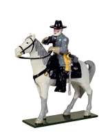0912 Toy Soldiers Set Mounted General Robert E Lee Painted
