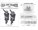 Old Toy Soldier Magazine 1989 Volume 13 Number 2 - Dimestore Variations first in a series