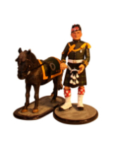 Sqn80 034 Pony Major and Mascot Argyll and Sutherland Highlanders 1975 Kit