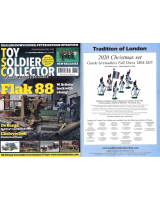 Toy Soldier Collector Magazine Issue 96 - Flak 88 W.Britain back with a bang!
