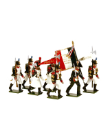 0716 Toy Soldiers Set French Line Infantry Painted