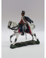 Del Prado 095 Trooper, Russian Isum Hussars, 1807 Painted