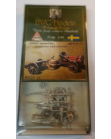 50mm - 1:60 - HWG Models - Tradition - 91023 Cannon and serpentine - Unpainted
