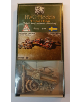 50mm - 1:60 - HWG Models - Tradition - 91025-29 Heavy culverin with limber - Unpainted