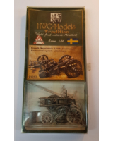 50mm - 1:60 - HWG Models - Tradition - 91053 French Napoleonic 6 inch howitzer. Gribeauval system with limber - Unpainted
