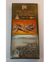50mm - 1:60 - HWG Models - Tradition - 91082-81 - Napoleonic War British 9 pdr Gun with Limber  - Unpainted