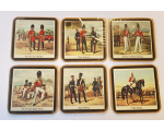 Pimpernel Cocktail Mats Regimental themes