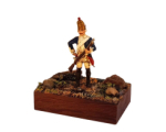 ToL 081 - Prussian Grenadier Mini diorama - 54mm Painted in matt