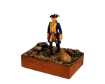 ToL 082 - Prussian Officer Mini diorama - 54mm Painted in matt