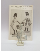 Rose Miniatures No. 024-1 - Scots Guards Drummer 1792 - Kit