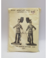 Rose Miniatures No. 060-2 - British Lancer Officer 1900 - Kit