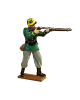 0837-1 Toy Kit, Private Standing Firing - 1st Carabinier Regiment Kit