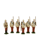 0053 Toy Soldiers Set The 72nd Highlanders Afghanistan 1879 Painted