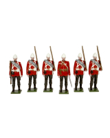 0054 Toy Soldiers Set The Royal West Kent Regiment Egypt 1882 Painted