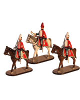 D2A Toy Soldiers Set The Danish Garder Hussar Regiment Painted
