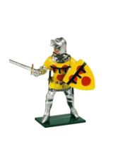 K43 Toy Soldier Set Lord Cortenay Earl of Devon Painted