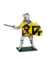 K53 Toy Soldier Set John Lord of Lisle of Rougemont Painted