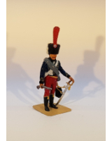P002 French Hussar 1812 - Painted