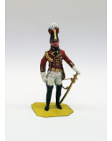 P015 British Officer - Painted