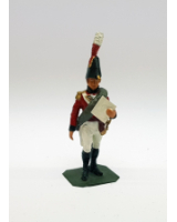 P047 British Officer 1808 - Painted
