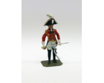 P069 Officer British Army Napoleonic War - Painted