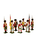 0737 Toy Soldiers Set 92nd Gordon Highlanders Painted