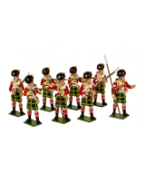 0738 Toy Soldiers Set 92nd Gordon Highlanders Painted