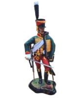 JW90 037 Hussar 7th Regiment of Hussars c.1800 Painted