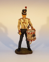 ToL 131 - Drummer 27th rgt 1815- 90mm Painted in matt