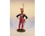 ToL 144 - French Officer Napoleonic War 90mm Painted in matt