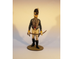 ToL 148 - Officer 10th Light Dragoons c. 1799 - 90mm Painted in matt