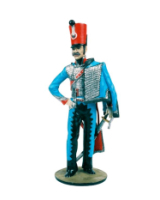 CS90 07 Officer 10th Regiment of Hussars c.1814 Painted