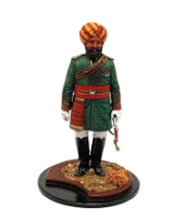Series 77 - 16-1 Officer Native Cavalry - Painted in Matt