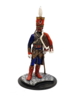Series 77 - 2-4 Officer French Hussar - Painted in Matt