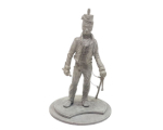 Series 77 - 5-4  Officer Rifle Regiment British Line Infantry 1815 - Unpainted