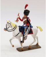 0739 CBG Mignot - Trumpeter Hussars Painted in Gloss
