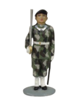 AL54 25 T.S. Officer Palace Guard in M90 Painted