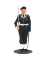 DS 20S T.S. Officer in Beret Guard Dress Painted