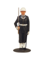 DS 21S T.S. Officer in Helmet Guard Dress Painted