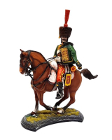 Series 77 - 2-6 French Hussar Trooper Painted in Matt