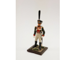 ToL 481 - Officer The Russian Army Napoleonic War Painted on metal base