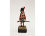 ToL 486 - Highlander Napoleonic War Painted on wooden base