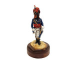 ToL 490 - Officer French Army Painted on wooden base